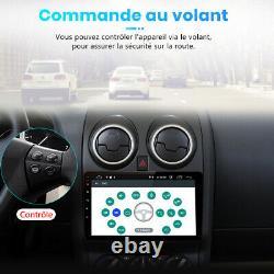 9Android10 Autoradio Pour Nissan Qashqai J10 2006-2013 GPS Navi BT DAB WiFi SWC