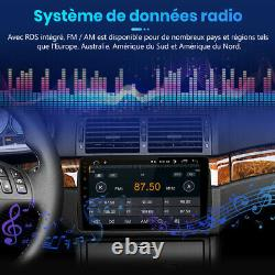 9Android 10 Autoradio 2 Din DAB+ GPS Navi Pour BMW 3 Ser E46 DSP WIFI Bluetooth