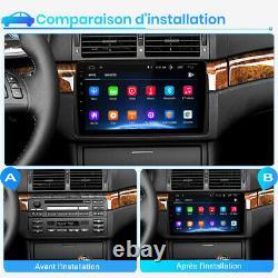 9Android Autoradio DAB GPS Navi Pour BMW 3 Series E46 M3 Rover 75 DSP WIFI BT