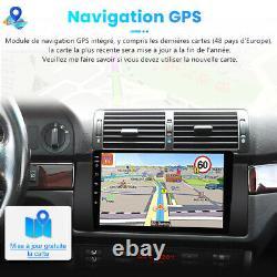 9Autoradio Android10.0 DAB+ GPS Navi Pour BMW X5 M5 E53 DSP WIFI Bluetooth USB