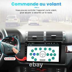 9Autoradio Android10 Pour BMW X5 M5 E53 DAB+GPS Navi DSP WIFI Bluetooth USB RDS