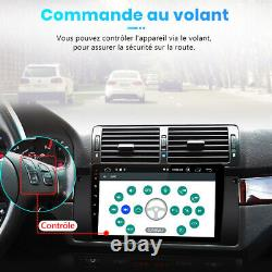 9Autoradio Android 10.0 DAB GPS Navi Pour BMW E39 5er DSP WIFI 2+32G Bluetooth