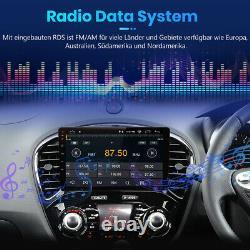 9 2 DIN Autoradio GPS BT Pour Nissan Juke 2010-2014 Stereo Player Radio Navi