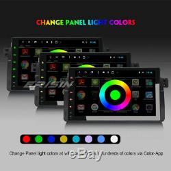 9 8-Core Android 8.1 Autoradio DAB+GPS TNT BT BMW E46 M3 3er Rover75 MG ZT Navi
