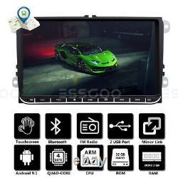 9 AUTORADIO Android 2+32G GPS NAVI FM 2 DIN For VW GOLF 5 Variant Passat EOS FR