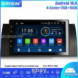 9 Android 10.0 Autoradio BMW 5 Series E39 E53 X5 M5 DAB+ CarPlay GPS TNT Navi