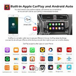 9 Android 10 Autoradio CarPlay Navi DSP WiFi DAB+ OBD2 For VW GOLF VII/7 8-Core