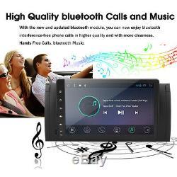 9'' Android 8.1 Quad-Core GPS Navi Autoradio Stéréo Wifi DAB+ pour BMW E39 E53