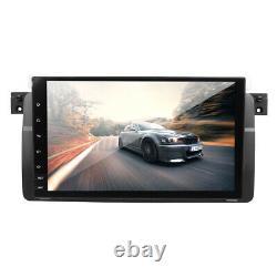 9'' Android 9.0 Autoradio Stéréo bluetooth GPS Sat Navi WiFi Caméra pour BMW E46