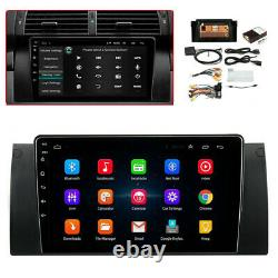9'' Android 9.1 autoradio stéréo GPS Navi FM 1 + 16 GB pour BMW E39 E53 X5 E38