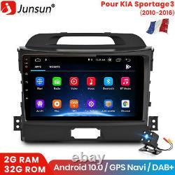 9 Android Autoradio Pour KIA Sportage 3 2010-2016 GPS SAT Navi BT DAB WiFi USB