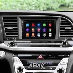 9 Android Autoradio Stéréo Lecteur MP5 GPS Navi Double 2Din Wifi + Caméra FR