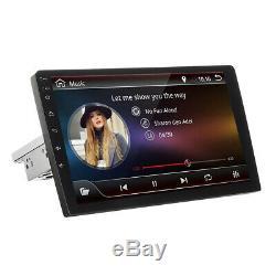 9'' Autoradio 1 Din Android 8.1 Stéréo GPS Navi WiFi bluetooth Ajustable