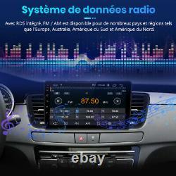9 Autoradio Stéréo Android 10.0 GPS NAVI WIFI DAB+ Pour Peugeot 508 2011-2018