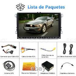9 Autoradio Stéréo Android Bluetooth GPS NAVI RDS For VW GOLF 5 6 Passat Touran