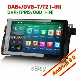 9 DAB+ Android 9.0 Autoradio Navi OBD BMW 3 Series E46 M3 320 Rover75 MG ZT TNT
