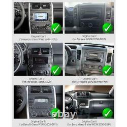 9 Écran Tactile Android Autoradio GPS Navi pour Mercedes A B Sprinter Crafter