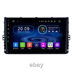 9 Tactile Android Autoradio Navi GPS Pour Volkswagen Polo T-Roc Sportsvan T6