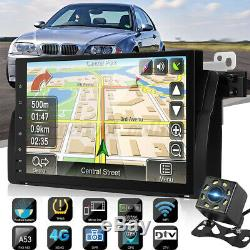 9 po Android 8.0 Autoradio Navigation Sat Navi OBD DAB WiFi Caméra For BMW E46