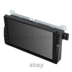 9 po Android 8.0 Autoradio Navigation Sat Navi OBD DAB WiFi Caméra pour BMW E46
