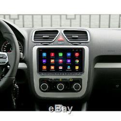 9 pouces Android 8.1 stéréo Radio autoradio 2Din GPS Navi Wifi pour VW Skoda Sea