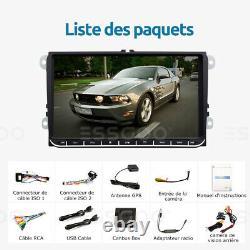 AUTORADIO 2 DIN Android 2+32G GPS NAVI Caméra For VW GOLF 5 6 Touran Tiguan EOS