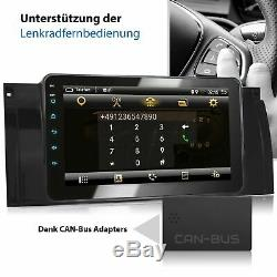 AUTORADIO AVEC ANDROID 6.0.1 2GB APPROPRIÉ POUR BMW E39 NAVI BLUETOOTH DVD WiFi