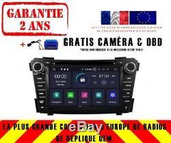 AUTORADIO DVD GPS NAVI ANDROID 9.0 8CORE DAB+ CARPLAY HYUNDAI i40 2012-14 RV5399