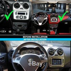 Alfa Romeo Mito Android 9 Autoradio 3D GPS Navi Tactile DVD Bluetooth USB SD