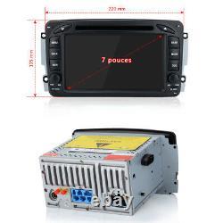 Android 10.0 Autoradio GPS Navi DVD WiFi 2+32G DAB+ Pour Mercedes Benz W203 W209