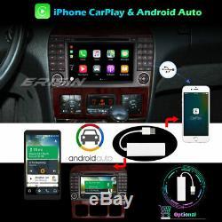 Android 10.0 DAB+Navi WiFi CarPlay Autoradio Mercedes Benz S/CL Classe W220 W215