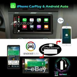 Android 10.0 Double Din DAB+ Autoradio GPS DSP CarPlay WiFi OBD DVR RDS TNT Navi