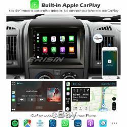 Android 10.0 Fiat Ducato Citroen Jumper Peugeot Boxer DSP Autoradio CarPlay Navi