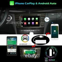 Android 10.0 WiFi CarPlay Navi Autoradio Mercedes-Benz E/CLS/G Classe W211 W219