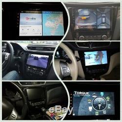 Android 1Din autoradio pour Nissan X-Trail Rogue 2014 à 2017 GPS Navi Stéréo DSP