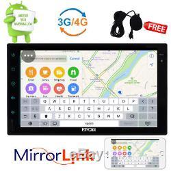 Android 6.0 7 Double 2 DIN Car no DVD Auto Radio GPS Stereo WIFI BT Navi Camera