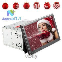 Android 7.1 10.1 Pouce Lecteur de DVD GPS Navi WIFI Lien miroir 2 Din Autoradio