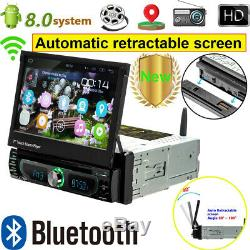 Android 8.0 1DIN Autoradio Stereo DVD GPS Navi 7 Touch Bluetooth MP5 Player