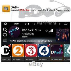 Android 8.0 DAB+Autoradio GPS NAVI CD TNT Toyota RAV4 Corolla Land Cruiser Hilux