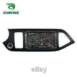 Android 8.0 Octa Core de voiture GPS de navi stéréo Kia Morning/Picanto 2011-16
