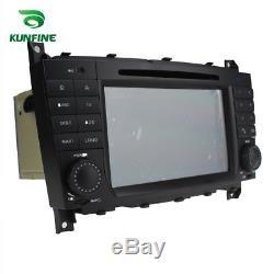 Android 8.0 Octa Core de voiture Navi GPS stéréo Benz C W203/CLK W209 2004-2007