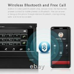 Android 8.1 7'' 1 Din Autoradio GPS Navi Bluetooth Touch Screen Wifi MP5 USB FM
