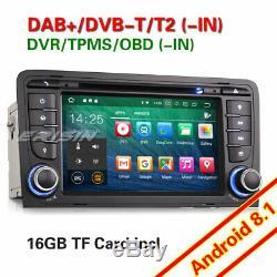 Android 8.1 Autoradio DAB+ GPS Wifi 4G BT CD OBD Navi TNT AUDI A3 S3 RS3 RNSE-PU