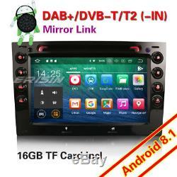 Android 8.1 Autoradio GPS DAB+FM WiFi OBD2 MP5 TNT Bluetooth Navi RENAULT MEGANE