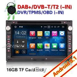 Android 8.1 Autoradio Navi For VW POLO PASSAT B5 GOLF 4 JETTA LUPO T5 SEAT Skoda