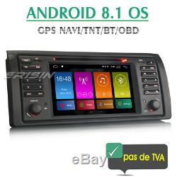 Android 8.1 BMW E39 E53 Autoradio DVD Player GPS Navi Bluetooth OBD2 DAB+ USB SD
