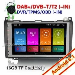 Android 8.1 Mercedes Autoradio Navi TNT DVR A/B Classe W169 Sprinter Viano Vito