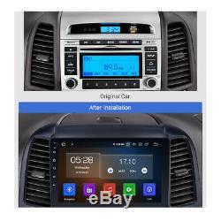 Android 8 Autoradio USB Écran Tactile GPS Navi Bluetooth Wifi Hyundai Santa Fe