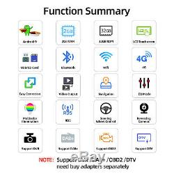 Android 9.0 2 Din Autoradio Stéréo GPS Navi For Ford Transit/C-MAX/Focus/Fiesta