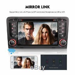 Android 9.0 AUDI A3 S3 RS3 RNSE-PU Autoradio WiFi DVD Bluetooth DAB+ Navi 8-Core